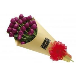 Amor con tulipanes