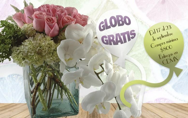 Globo GRATIS con tu arreglo